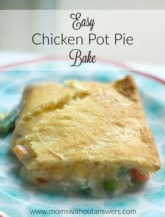 Sharing a delicious and easy chicken pot pie bake that is the perfect busy weeknight meal for fall