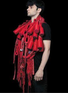 – Remi Galtier – DNAP 2013 – fil de coton, cuivre - ENSA Limoges