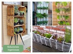 Colgadores balcones minis : via MIBLOG