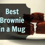 The Best Brownie in a Mug Recipe! :: Grassfed Mama