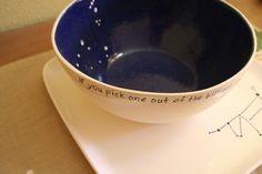 Constellation Bowl / Made to Order / Ceramic by CNJceramics, $35.00