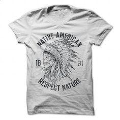 Native American Chief Skull and Headdress - #tshirt art #tshirt organization. PURCHASE NOW => https://www.sunfrog.com/Outdoor/Native-American-Chief-Skull-and-Headdress-White-Guys.html?68278