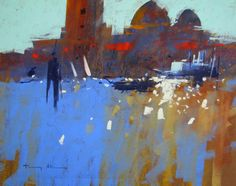 Tony Allain (UK) pastel