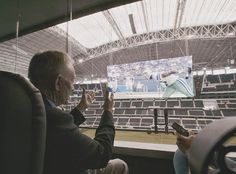 Sit in Owners Box at a Football game