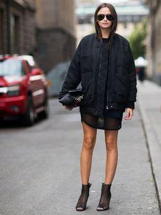 Reva Bomber jacket by Carin Wester