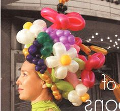 i think this is my dream balloon hat!