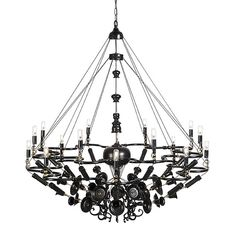 Exploded Chandelier: old and new by NIGHTSHOP
