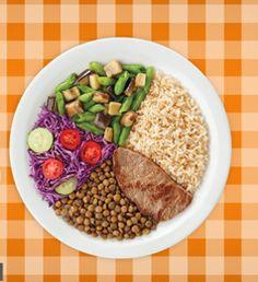 Na pracinha: Como deve ser o pratinho de refeições das crianças?
