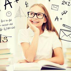 1727a0fa82ed Behavior, Glasses, Children, Brain, Girl Pics, Fotografia, Paper, Back To  School, Behance