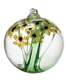 Loving this Dark Yellow 2.5'' Thanks Kitras Blossom Ball on #zulily! #zulilyfinds