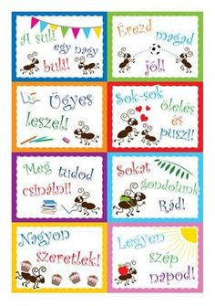 motivacios_papirmuhely Classroom Rules, Classroom Decor, Parenting Advice, Kids And Parenting, Games For Kids, Art For Kids, Teaching Displays, 4 Kids, Children