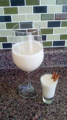 Coquito, Also Known As Puerto Rican Egg Nog! Yum!