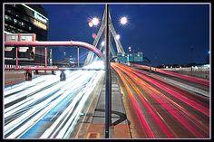 Zakim Bridge Northbound :: Boston, MA