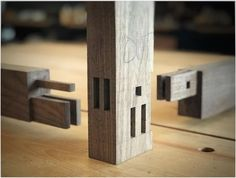What could possibly be better than haunched double through mortise and tenon joinery? How about three haunched through mortise and tenons!…