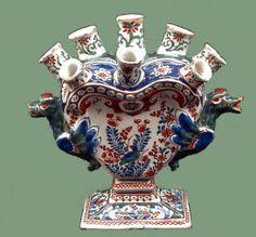 Delft tulip vase - beautiful!