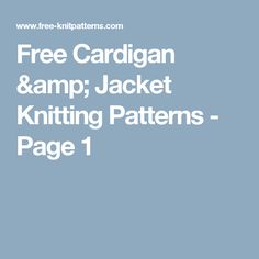 613500db6 57 Best knitting patterns images in 2019