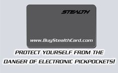 Best Identity Theft Protection Against RFID Electronic Pickpockets http:...