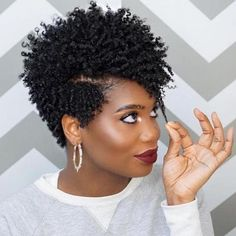 Luna 033 Best design Beautiful Curly Hair Wig - October 19 2019 at Pelo Natural, Natural Hair Tips, Natural Hair Styles, Natural Beauty, Afro Hairstyles, Black Women Hairstyles, Short Crochet Braids Hairstyles, Short Natural Hairstyles For Black Women Tapered, African Hairstyles