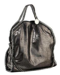 06621ec3d9d9 Details about Auth STELLA McCARTNEY Falabella 2WAY bag Shaggy Deer Fold  over chain shoulder