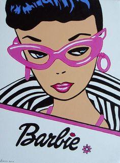 Original 1959 Barbie Doll, Mattel Corporation Since its debut in an… Barbie Painting, Barbie Drawing, Beautiful Barbie Dolls, Vintage Barbie Dolls, Barbie And Ken, Fat Barbie, Barbie Stuff, Barbie Images, Postcard Art