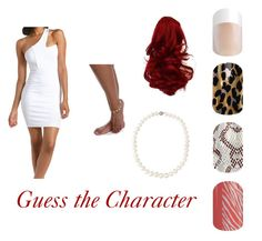 Jamberry Guess the Character game nail wraps Wilma Flintstone