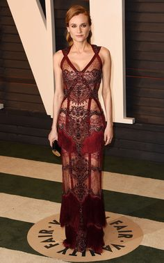 Diane Kruger - I don't like the sheer look, but there are parts of thus dress that I think are interesting.