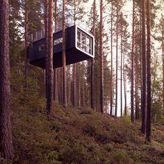 The Cabin by Cyrén & Cyrén, Treehotel, Sweden