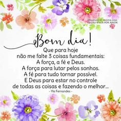 Bom dia e bom sábado de muita PAZ. Portuguese Quotes, Happy Week End, Good Afternoon, Faith In Love, Day For Night, Family Love, Inspirational Quotes, Cards, Top Imagem