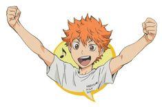 Haikyuu!! ~~ Hinata is a very happy boy!