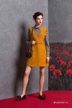 Женская мода: Alena Goretskaya, осень-зима 2016-2017