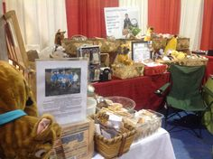 Our craft show booth at Santa's work shop in Cookeville each year in November. www.joshuaspettreatbakery.com