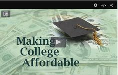 'Making College Affordable is the first in a series of ETV television specials for teachers, educators and parents. This program assists students and parents to find #FinancialAssistance and #Scholarships for college tuition. http://www.pinterest.com/scetv/education/