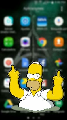 Simpson Wallpaper Iphone, Funny Phone Wallpaper, Batman Wallpaper, Cellphone Wallpaper, Cool Wallpaper, Wallpaper Desktop, Desktop Backgrounds, Wallpaper World, Wallpaper Quotes