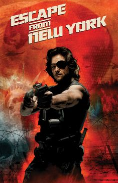 Escape from New York - movie poster - Tim Bradstreet  I just can't comment on how cool this is.