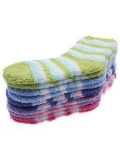 Doublju Womens Soft Comfortable Stripe Rainbow 5Set Socks Set1 Doublju. Save 30 Off!. $19.99