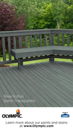 River S Run Is A Part Of The Olympic Stains Semi Transpa Collection By