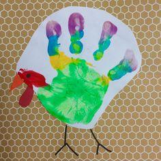 November handprint calendar