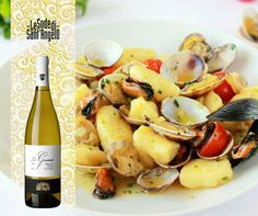 Wine & food pairings : Vermentino LeGessaie pairs perfectly with gnocchi  (potato dumplings)
