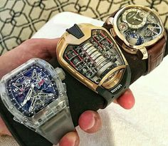 292d7a2fd4b Richard Mille x Greubel Forsey GMT x Hublot LaFerrari. Photo by by  luxury club worldwide