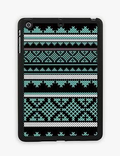 Mint Aztec iPad Mini Case