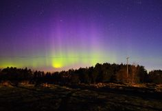 Auroras Taken by Pirjo Koski on May 1, 2016 @ Finland