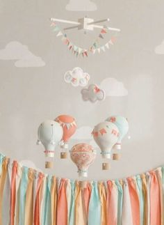 Globos aerostáticos #decoracion