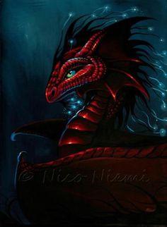Red Dragon Glow
