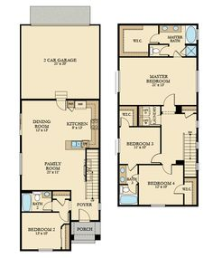 The Glenmore home by Lennar Seattle. 1,901 sq ft with 4 bedrooms and 3 bathrooms