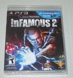 inFamous 2 (Sony PlayStation 3, 2011) New- Brand New! Factory Sealed! - http://howto.hifow.com/infamous-2-sony-playstation-3-2011-new-brand-new-factory-sealed/