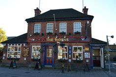 The Horns public house, is a site steeped in history, according to which it has moved about a bit, formerly No.8 it is now situated at no.1 Hempstead Rd. References to the pub name date back as early as the 17th Century & although rebuilt it is without doubt Watfords most Credible Music venue. :) http://www.thehornswatford.co.uk/