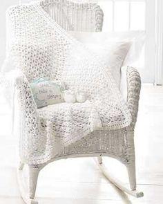 Softee Baby - Blanket and Booties (crochet)