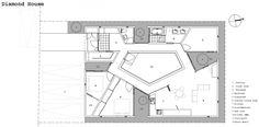 Casa Diamante / Masao Yahagi Architects | Plataforma Arquitectura