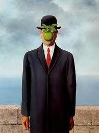 Le Fils de L'Homme (Son of Man), by Rene Magritte The Son of Man (French: Le fils de l'homme) is a 1964 painting by the Belgian surrealist painter René Magritte. Magritte painted it as a. Rene Magritte, Artist Magritte, Magritte Paintings, Salvador Dali Paintings, Cubist Paintings, Art Visage, Most Famous Paintings, Famous Artwork, Art History