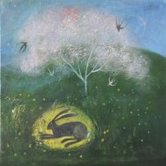 Beneath the flowering tree by Catherine Hyde